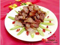 年菜~自製煙燻臘肉