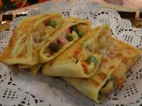 起司鮮蝦雜菜鍋餅