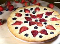 清新版花開富貴年菜:草莓蛋糕