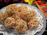 繡球炸芋蝦