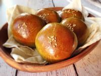 抹茶紅豆麵包 Matcha Buns with Red Bean Paste