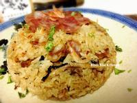 櫻花蝦臘味干貝米糕-淬釀年菜料理