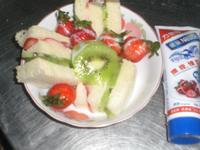 水果小三明治【草莓就愛鷹牌煉奶】