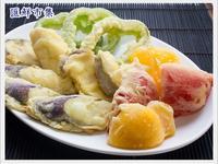 炸蔬菜天婦羅~情人節日式料理套餐
