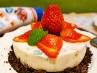 草莓鮮奶凍【草莓就愛鷹牌煉奶】