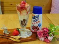 【吳双の親子食堂】草莓就愛鷹牌煉奶之聖代篇