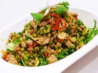 肉末炒豇豆(豆油伯辣豆瓣醬食譜)