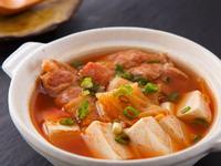 韓式泡菜豆腐鍋(免用油法)