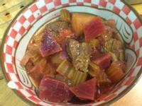 甜菜根牛肉果蔬湯