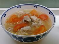 番茄黃豆芽排骨湯