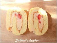 ♥我的草莓蛋糕捲♥【烘焙展食譜募集】