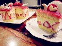 草莓白巧克力慕斯蛋糕【烘焙展食譜募集】