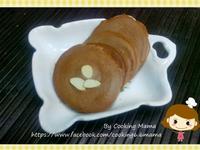 超簡單的巧克力杏仁脆片