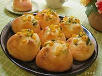 香蔥玉米麵包。烘焙展食譜募集