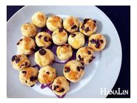 │漢娜愛吃甜│蘭姆葡萄乾小圓球酥餅