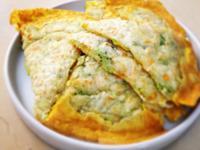 蔬菜厚蛋餅