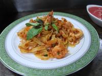 椰子油義式椰香風味海鮮番茄寬扁麵