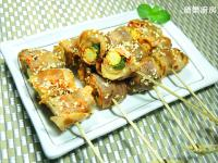 泡菜豬肉捲