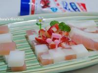 草莓煉乳果凍♥草莓就愛鷹牌煉奶