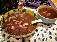 蓮子百合紅豆甜湯