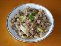 <魯菜>蔥爆羊肉丁