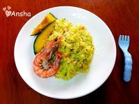 超簡單♥南瓜海鮮燉飯