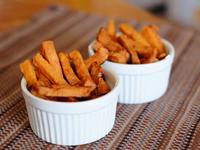 免油炸! 烤箱烤出香噴噴地瓜薯條