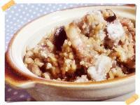 古早味香菇芋香炊飯(簡易電鍋版)