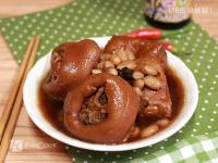 花生滷豬腳豆干