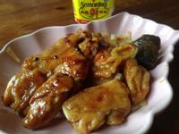 梅香醬燒洋蔥雞腿 [ 美極鮮味露 ]