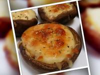 乳酪焗香菇