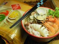 日式味噌海鮮拉麵【五木麵條】