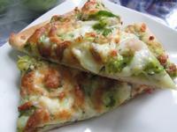 青醬海鮮綜合披薩