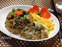 極品鮮蚵香菇飯(電子鍋版)