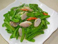 干貝荷蘭豆