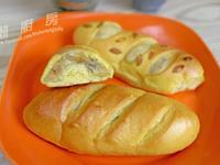 南瓜糯米麵包『Panasonic製麵包機』
