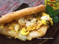 炸蛋蔥油餅(宜蘭礁溪)