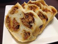 韓式辣肉醬蒸烤花捲『Panasonic製麵包機』