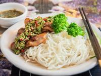 椒麻雞蒟蒻麵