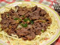日式牛肉生薑燒