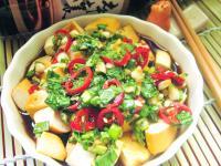 涼拌蒜香豆干(免滷)