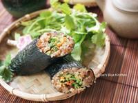海苔蔬菜糯米捲