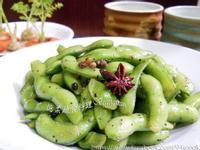 ♥憶柔蔬食♥涼拌素食黑胡椒毛豆莢