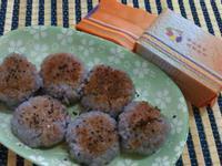 ㄚ芬的小廚房-彩米烤飯團