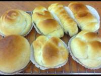 基本甜面包 ~ 直接发酵法