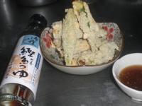 炸秋葵天婦羅 淬釀日式下午茶點