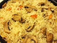 奶油南瓜蘑菇炊飯