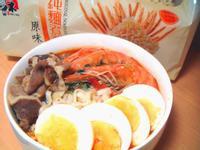 泰式酸辣鮮蝦湯麵『五木拉麵』