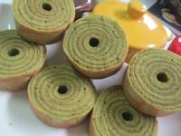 抹茶年輪鴨蛋糕(平底鍋)