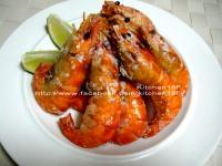 鹽烤泰國蝦 超簡單_烤箱料理